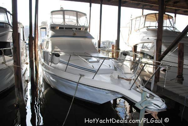 1989 Sea Ray 440 Aft Cabin Motoryacht Nice Boat! $75,000.00