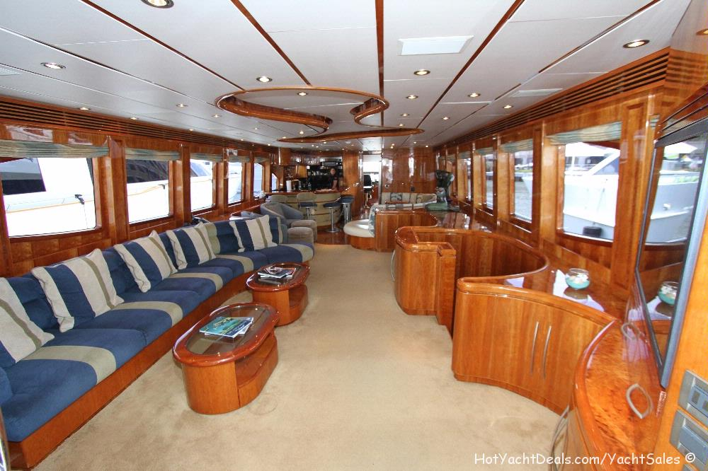 2012 Used Hargrave 97 Open Bridge $3,995,000.00